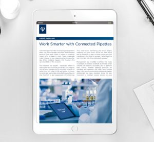 Article: Work smarter with connected pipettes