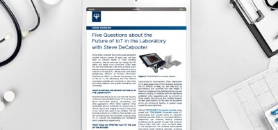 Five Questions about the Future of IoT in the Laboratory