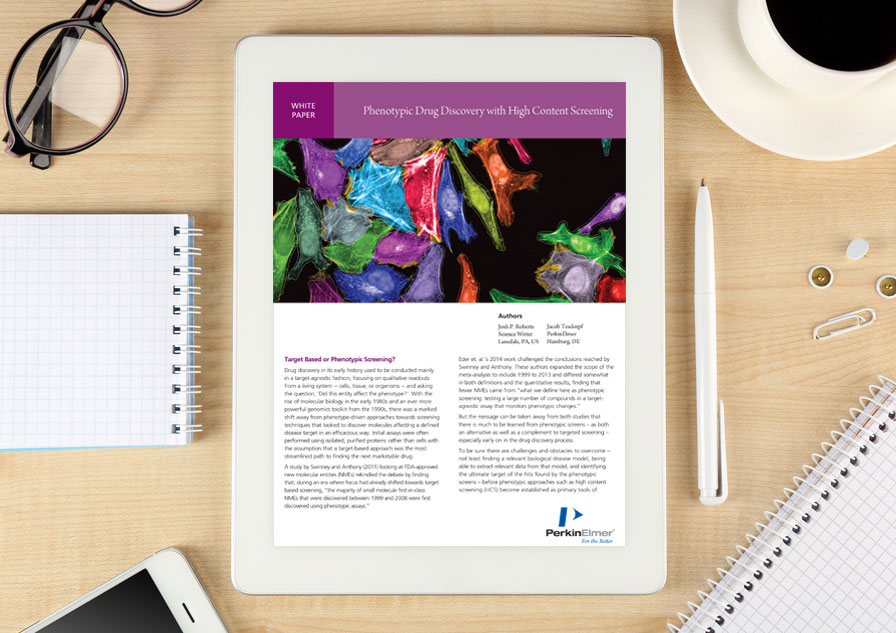 Whitepaper: Phenotypic drug discovery with high content screening