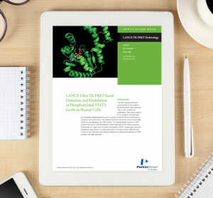 Application note: LANCE Ultra TR-FRET –based detection and modulation of Phosphorylated STAT3 levels in human cells