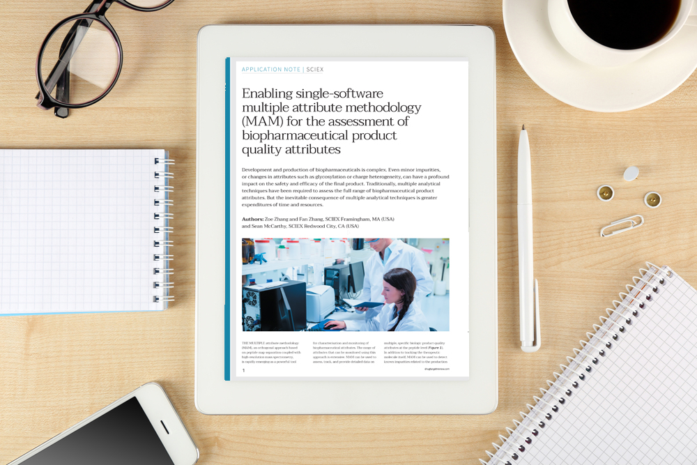 Enabling single-software multiple attribute methodology (MAM) for the assessment of biopharmaceutical product quality attributes