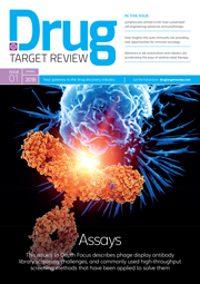 Drug target review issue 1 2018 cover