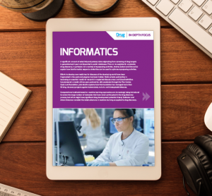 Informatics In-Depth Focus cover
