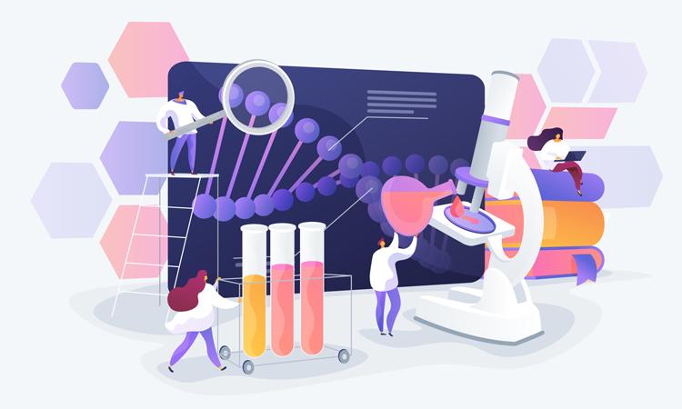 Disease research image