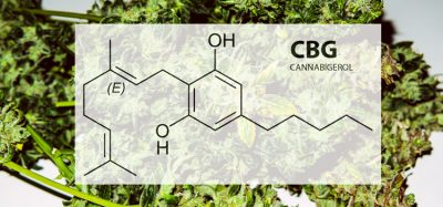 Cannabigerol chemical formula